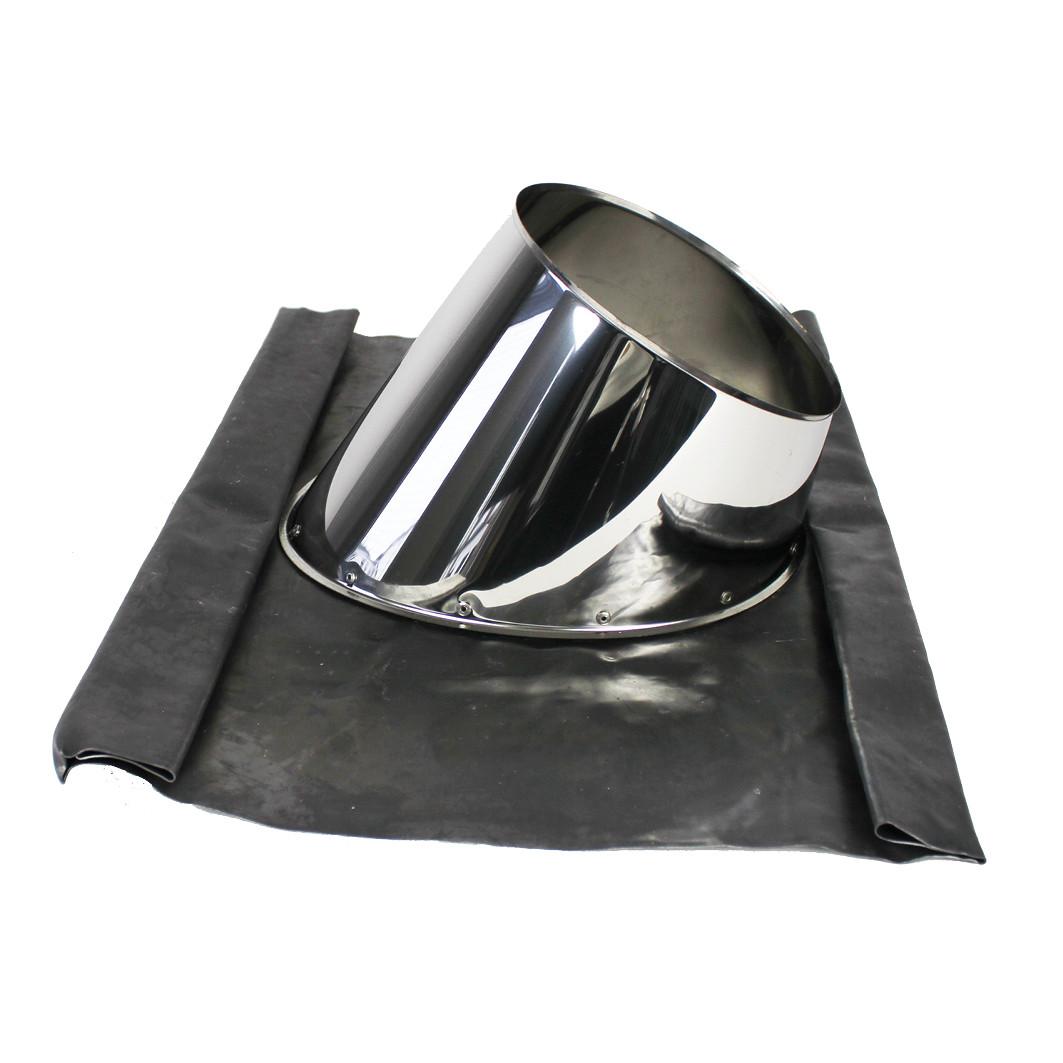 edelstahlschornstein dachdurchf hrung 5 30 blei. Black Bedroom Furniture Sets. Home Design Ideas