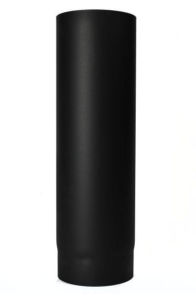 1.000mm Rauchrohr aus Stahl - 2 mm Wandstärke 150mm Durchmesser schwarz