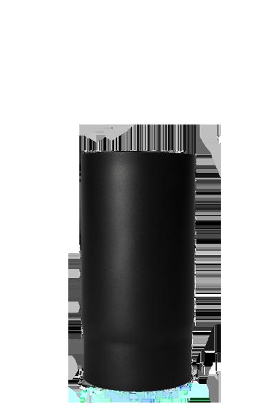 250mm Rauchrohr aus Stahl - 2 mm Wandstärke 150mm Durchmesser schwarz