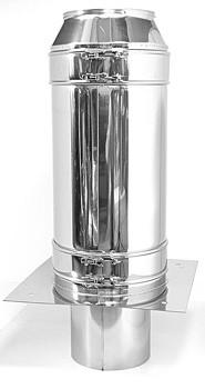 Schornsteinverlängerung - 2000mm - doppelwandig
