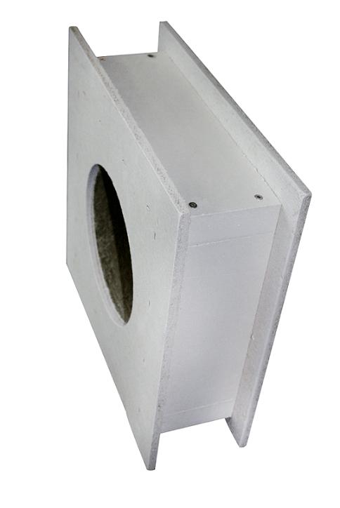 Brandschutz Wanddurchführung 485mm - Ø 130-150-180-200MM