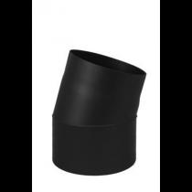 Rauchrohr 11° - Bogen ohne Prüföffnung 150mm Durchmesser Knie