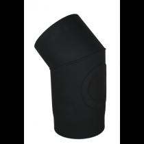 Rauchrohr 33° -  Bogen mit Prüföffnung 150mm Durchmesser Knie