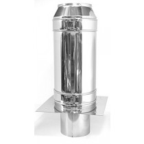 Schornsteinverlängerung - 1500mm - doppelwandig