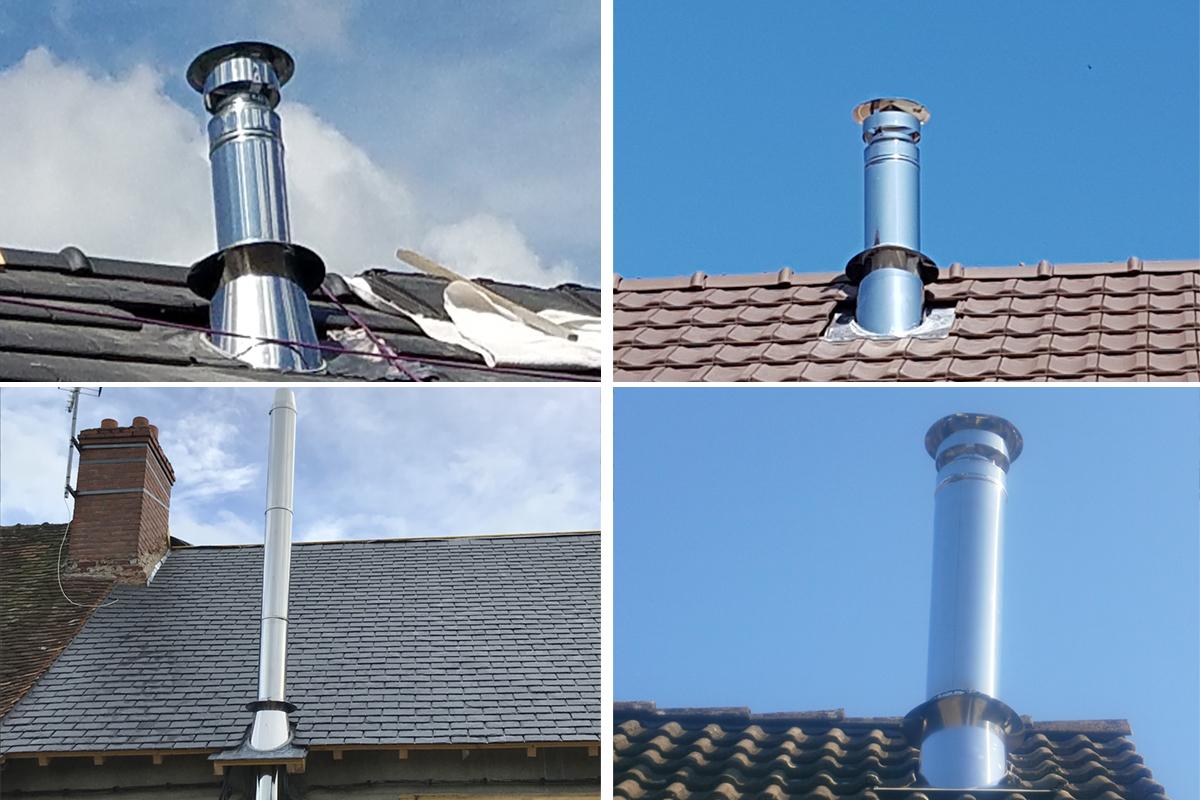 Feuille D Inox À Coller comment installer sa sortie de toit et assurer son étanchéité ?