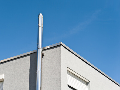 Conduits de chemin e le partenaire pour votre po le for Construire un conduit de cheminee exterieur