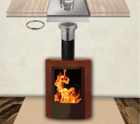 Kit intérieur conduit de cheminée